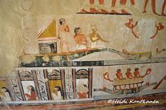The last journey on the Nile (konde) Tags: tt69 menna newkingdom 18thdynasty sheikhabdelqurna tomb tombpainting mythology ancientegypt hautamaalaus luxor thebes relief sonsofhorus coffin sarcophagus stele stela boat hieroglyphs isis nephthys goddess