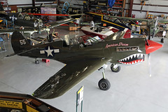 NL977WH (55) Curtiss Wright P-40N Warhawk United States Air Force 'American Dream' From Up High Kissimmee Municipal 25th October 2018 (michael_hibbins) Tags: nl977wh 55 curtiss wright p40n warhawk united states air force american dream from up high kissimmee municipal 25th october 2018 n america usa us untied