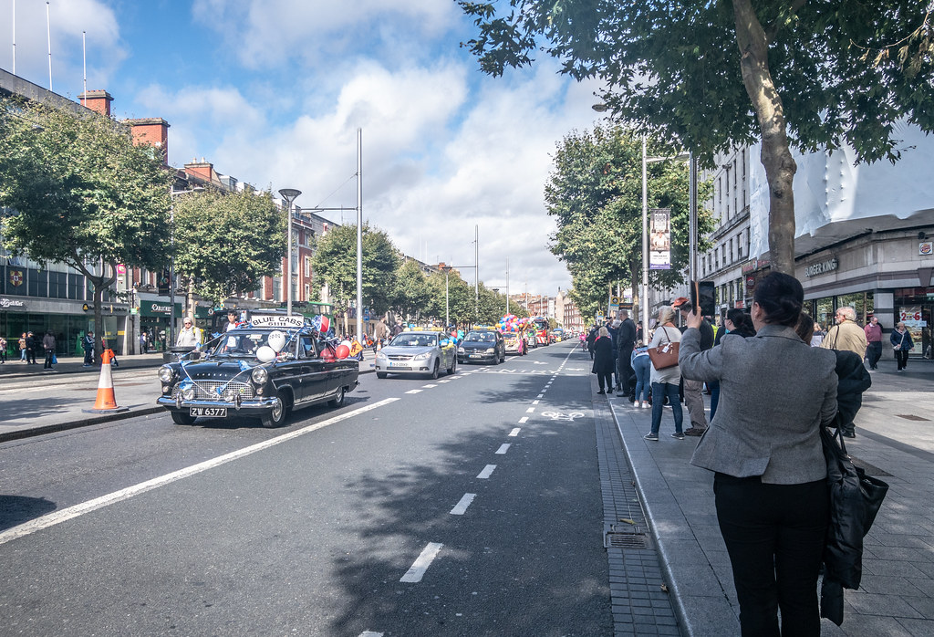 IT IS NOT A PROPER PARADE OR PROTEST MARCH IF IT DOES NOT PASS THROUGH O'CONNELL STREET [TAXI DRIVERS CHILDRENS' OUTING]-149867