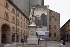 galvani (cyberjani) Tags: italy architecture street city people photo building sky tower road bologna