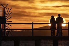 Fused in the light (Cristiano Pelagracci) Tags: trasimeno sun sunset tramonto paesaggio paesaggi landscape orange silhouette dark shadows lake lago water umbria italia canon italy