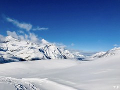Head in the Clouds (Thomas Fice) Tags: zermatt ski matterhorn sun peak blue snow altitude landscape europe slope cold day alps mountain switzerland high white sport travel