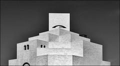 * Islamischer-Kubismus * (antonkimpfbeck) Tags: orient2019 museumfürislamischekunst monochrome bw art architektur fujifilm