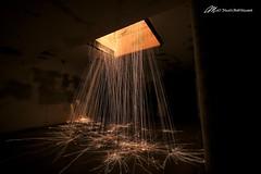A Hot Shower (Matt Straite Photography) Tags: sparks steel wool state park fort stevens battery russell shower night dark military canon tripod flickrtravelaward