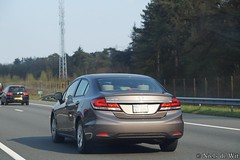 Honda Civic (NielsdeWit) Tags: nielsdewit car vehicle honda civic a12 driving highway bitkp276 bit kp276 kp 276 germany
