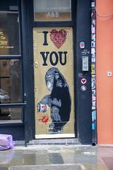 DSC_6125 Shoreditch London Redchurch Street Artwork I Love You Chimpanzee (photographer695) Tags: shoreditch london redchurch street artwork i love you chimpanzee