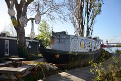 Office boat (-Kj.) Tags: buiksloterham amsterdam deceuvel houseboat upcycling pier phytoremediation buiksloterhamcirculair office