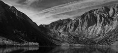 Still Lake, Flying Sky (alex.pogue) Tags: mountains lake water reflection blackandwhite pentax k3 landscape nature granite clouds wind outdoors