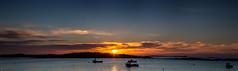 panorama coucher de soleil bretagne (Gpaul08) Tags: paysage panorama plage mer bretagne bateau boat bleu blue canon ciel couleur color cloud coucherdesoleil sky soleil sun sea landscape sunset