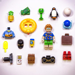 Holiday Packing (Jezbags) Tags: holiday packing lego legos toy toys macro macrophotography macrodreams macrolego minifigure canon canon80d 80d 100mm accessories