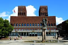 Oslo City Hall (Atila Yumusakkaya) Tags: norway yumusakkaya europe oslo bulding