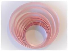 PINK (Hannelore_B) Tags: rosa pink weeklythemechallenge geschenkband ribbon highkey