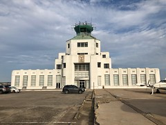 1940 Air Terminal Museum, Hobby Airport, Houston TX (- Adam Reeder -) Tags: car airplane y2019 m02 d23 lat300 lon950 william p hobby airport harris texas united states photo jpg apple iphone x 1940 air terminal museum houston tx