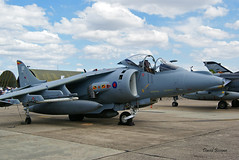 BAE Harrier GR 9 n° 512071/P2 ~ ZD321 / 02  RAF (Aero.passion DBC-1) Tags: 2008 meeting dijon dbc1 david biscove aeropassion avion aircraft aviation plane airshow bae harrier ~ zd321 raf