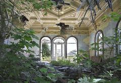 Grande Hotel do Parque (Sean M Richardson) Tags: abandoned ruins architecture portugal decay nature details canon photography travel explore color light texture