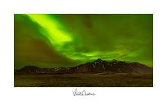 Aurore boréale - Islande 2019 (Vincent Cordeboeuf) Tags: islande2019 aurore boréale paysage iceland montagne nuit