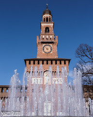 castello sforzesco (marco_brst) Tags: milan amazing cityview castle city landscape explore europe water
