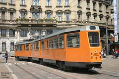 Milano 4947 (pretsend (jpretel)) Tags: milano atm tranvia articulado fiat 4900