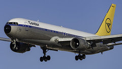 D-ABUM_LAS_Landing_26L_Retro_Jet (MAB757200) Tags: condorflugdienst aircraft airplane airlines airport jetliner landing las klas mccarran boeing retrojet achim runway26l
