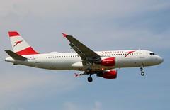 Austrian Airlines, OE-LBW, MSN 1678, Airbus A 320-214, 07.04.2019,  HAM-EDDH, Hamburg (Named: Innviertel) (henryk.konrad) Tags: austrianairlines oelbw msn1678 airbus a320214 hamburg hameddh henrykkonrad