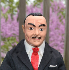James Bond Disguise Mask (trev2005) Tags: gilbert james bond doll action figure sean connery 007