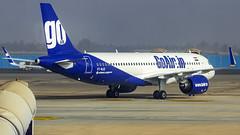 Go Air Airbus A320NEO VT-WJE Bangalore (BLR/VOBL) (Aiel) Tags: goair airbus a320 a320neo vtwje bangalore bengaluru neo