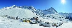 Innsbruck, Austria (jamesalexandermichie) Tags: ski snow skiing austria innsbruck winter mountain sunset sun sky blue landscape