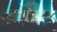 Jinjer - live in Kraków 2019 fot. Łukasz MNTS Miętka-23