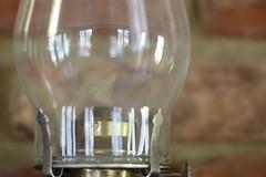 Hurricane (Victoria T Hunt) Tags: lamp brick glass metal