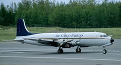 DC-6   N251CE   ANC   20020527 (Wally.H) Tags: douglas dc6 n251ce aircargoexpress anc panc anchorage airport