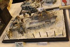 PZ. Kpfw. VI Tiger II (CHRISTOPHE CHAMPAGNE) Tags: 2019 belgique exposition maquette roselie fele maquettisme 135 diorama pzkpfw vi tiger ii