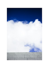 (drasticgroove) Tags: color minimalism sky clouds wall blue leica mp typ240 zeiss zm sonnar 5015