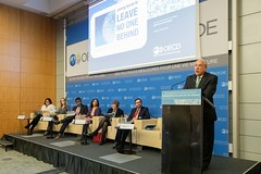 Launch the 2018 Development Co-operation Report on Joining Forces to Leave No One Behind (Organisation for Economic Co-operation and Develop) Tags: 2019 ocde oecd launchthe2018developmentcooperationreportonjoiningforcestoleavenoonebehind angelgurria secretarygeneral paris france fra
