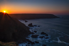 Sunset at Hell's Mouth (Nigel Jones QGPP) Tags: cornwall hellsmouth gwithian hayle