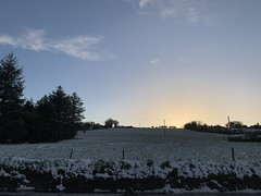 Snow Day - Sunset - County Cork, Ireland - March 3, 2019 (firehouse.ie) Tags: lateevening evening hills hill landscapes snowscapes snowscape wintery landscape countryside countycork ireland sundown sunset snow dusk