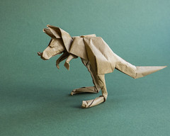 Kangaroo (bodorigami) Tags: bodo oigami kangaroo 225 känguru paper papier bodorigami easy simple animal