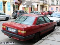 Audi 100 C3 (Adrian Kot) Tags: audi 100 c3