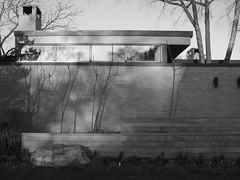 Modern (Nick Condon) Tags: architecture blackandwhite olympus25mm olympusem10 absoluteblackandwhite olympus