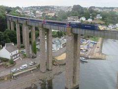 Crossing The Tamar August 2018 (clivepsmithmarch1960) Tags: hst royalalbertbridge