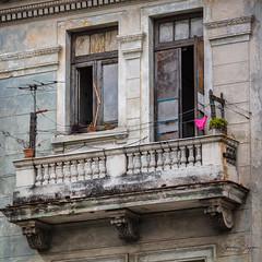 Love is in the Air (Slobodan Blagojevic) Tags: havana cuba urban balcony panties pink decay