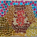 ''Lion Face'' by Sherrill S, mosaic, $100.00