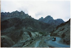 (grousespouse) Tags: ladakh 35mm analog film nikonf3 nikonseriese28mmf28 vision3 kodakvision200t analogue landscape tungsten cinematic filmphotography colorfilm colourfilm grain dark dusk blue 80b india kashmir himalayas mountains majestic haunting scenery argentique travel highway leh scanned dreamlike dreamy dreamscape atmosphere atmospheric croplab grousespouse 2018