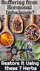 Suffering from Hormonal Imbalance? – Restore It Using these 7 Herbs (healthylife2) Tags: suffering from hormonal imbalance – restore it using these 7 herbs
