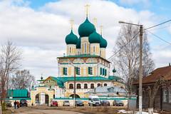 Tutaev (gubanov77) Tags: church temple cathedral architecture building city cityscape tutaev russia тутаев romanovborisoglebsk tutayev borisoglebsk