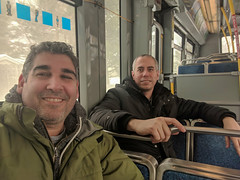 Since the car is broken, public transportation will do (lezumbalaberenjena) Tags: oc transpo bus omnibus