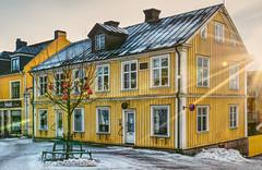 Christmas in the city (simson60) Tags: schweden vimmerby hdr nikon architektur weihnachten christmas holzhaus winter