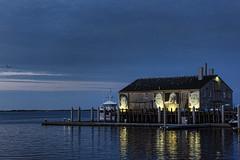 Provincetown Morning (WilliamND4) Tags: morning blue ocean harbor nikon d810 massachusetts