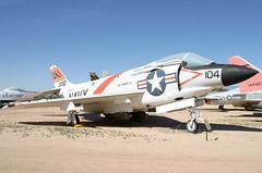 143492_01 (GH@BHD) Tags: 143492 mcdonnelldouglas mcdonnelldouglasf3h2demon f3 f3h demon usn unitedstatesnavy pimaairspacemuseum pima tucson arizona military fighter aircraft aviation