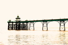 Clevedon Pier (Melanie Gregory) Tags: sea seaside seascape photography photographersonflickr edited pier somerset clevedon coast nik nikon