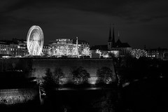 Luxembourg City Winter Market (lja_photo) Tags: architecture architectural art artificial square white europe exploration exposure travel trees tourism tower urban illuminated outdoors photography sky street streetphotography shadows skyline dramatic design fineart fujixt20 houses light landscape landmark longexposure luxembourg lights luxembourgcity contrast clouds city cityscape viewpoint black blackandwhite bw bnw blackandwhitephoto building buildings beautyful noperson nightscape night nightsky monochrome monotone monoart moody nightphotography atnight attraction ourluxembourg madeinluxembourg